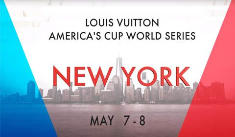 50 day countdown to Louis Vuitton America's Cup World Series New York