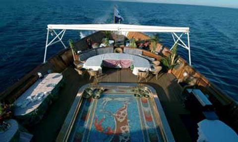 Springfield piattaforma girevole in acciaio per sedia da barca