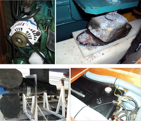 Collegare il tubo dellacqua motore fuoribordo