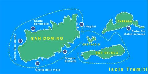 Cartina Puglia Isole Tremiti.Isola Di Capraia I Tremiti Fg Turismo E Ormeggi Nautica Report