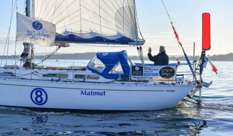 Golden Globe Race - Day 190 - Van Den Heede serves 18 hour penalty