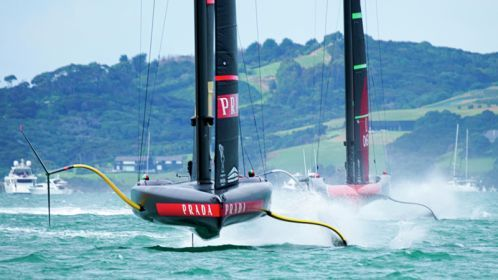 The 36^ America's Cup presented by Prada - Day 1