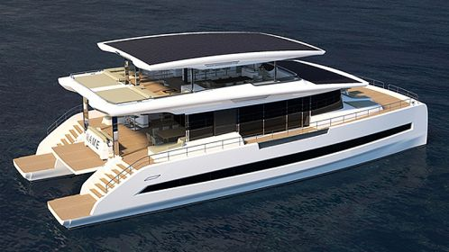 Silent-Yachts unveils new versions of its solar electric catamaran flagship Silent 80