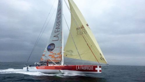Alan Roura (La Fabrique) sets a new North Atlantic Record