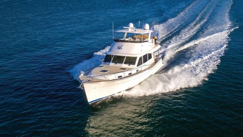 Grand Banks 54 a revolution in fuel-efficient performance cruising
