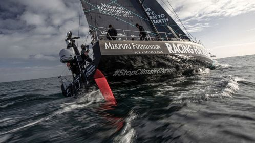 Mirpuri Foundation launches 'Racing for the Planet' Ocean Race vessel in Cascais