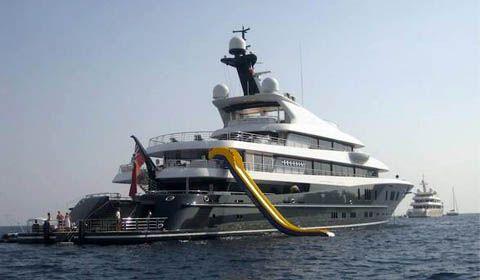 A portofino il quinto yacht piu 39 grande del mondo yacht for Classifica yacht piu grandi del mondo