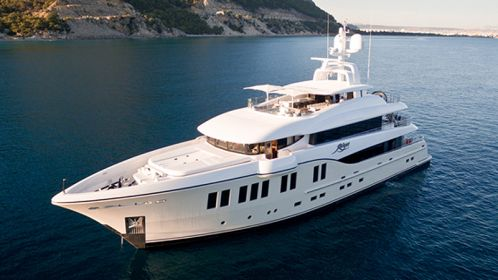 Object of desire: the 41m Rüya by Alia Yachts