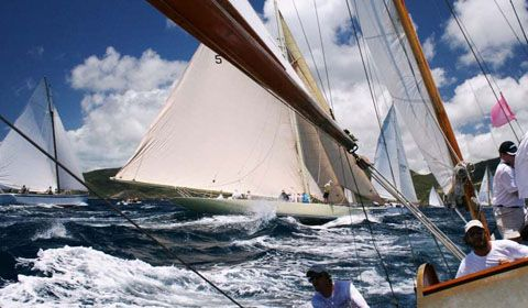 Antigua Classic Yacht Regatta: Sunday Funday
