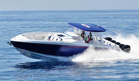 cigarette 42 huntress barche a motore nautica report
