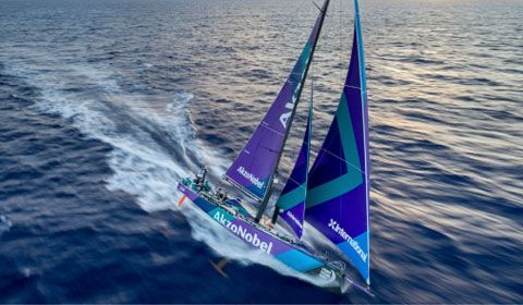 Volvo Ocean Race Jury awards Redress to team AkzoNobel