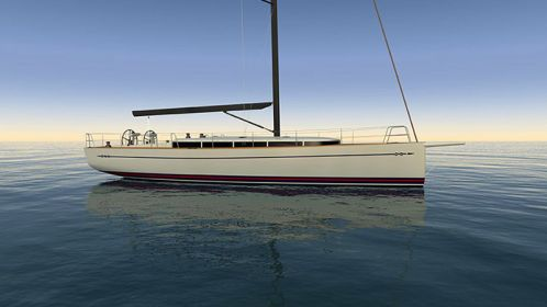 MCM, Tripp Design and Rockport Marine to take a wood-composite 45 footer sailing yacht innovation to the next level