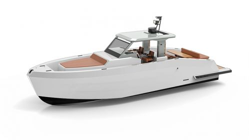Mazu Yachts introduces a new weekend version of the sporty 42 Walk-Around
