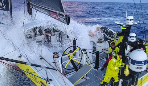 Volvo Ocean Race - Race shortlisted for prestigious technology award