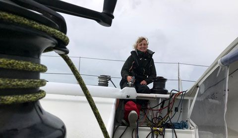 Pip Hare: Chasing The Vendée Globe Dream Hard.