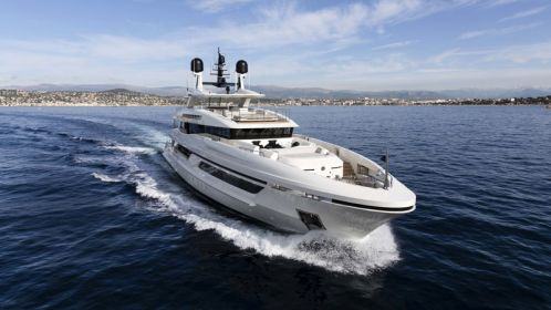 Baglietto kicks off the yachting season in Cannes with its 48-meter Motor Yacht Andiamo