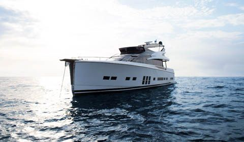 Adler Yacht how its hybrid propulsion system takes you over the Atlantic Ocean