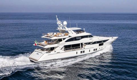 M/Y Skyler di Benetti vince il premio Best of the Best