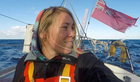 Golden Globe Race 2018 - Day 159: Ship on station to rescue Susie Goodall