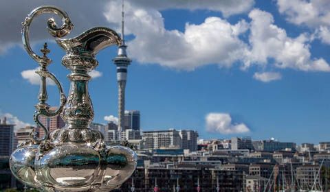 America's Cup - Defender and challenger of record progress AC36 planning