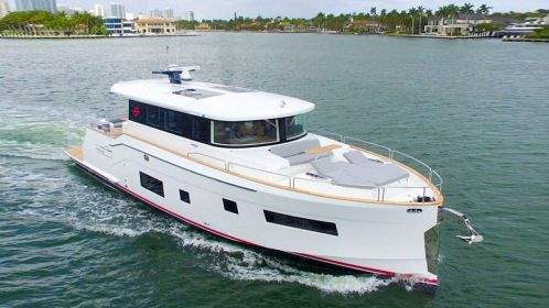 Sirena Yachts announced the public debut of the Sirena 58 Coupé at the 2020 Miami Yacht Show