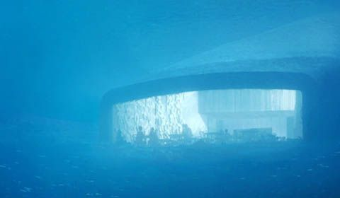 Primo ristorante sottomarino in Europa inaugurato in Norvegia