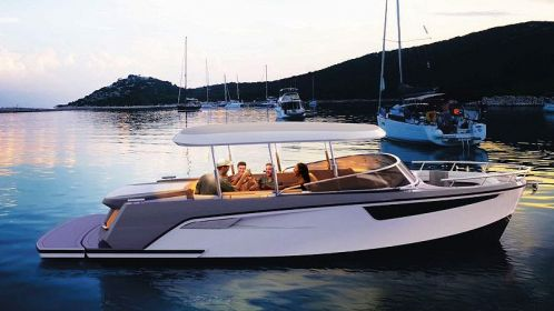 Alfastreet Marine: 28 Open Electric