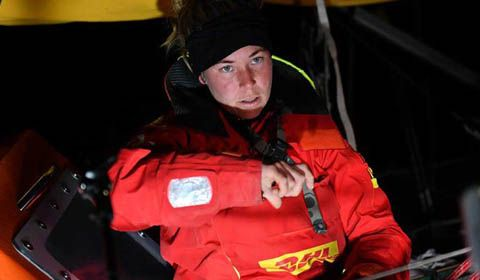 Golden Globe Race 2018 - Day 159 - Breaking News:  Susie Goodall rescued!