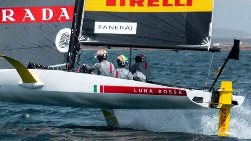36th America's Cup: a third test boat takes off in Cagliari