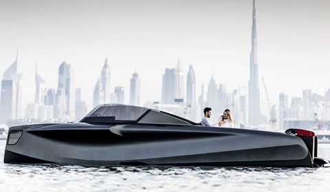 New Foiler the flying yacht evolution to debut at 2019 Dubai International Boat Show