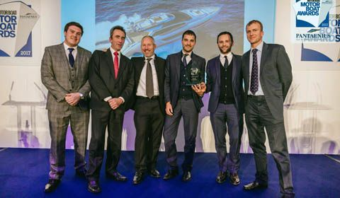 "76' Perseo wins the ""Motor Boat Awards 2017"""