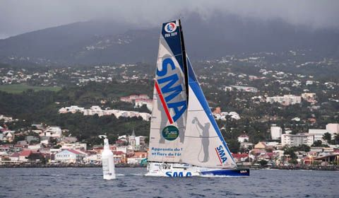 Route du Rhum - Paul Meilhat wins the IMOCA class