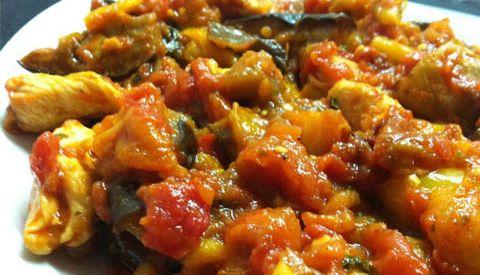 Petti di pollo con peperoni ricette in barca nautica for Vongole veraci wikipedia
